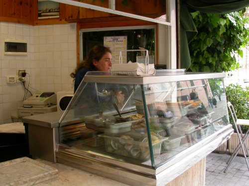 The small kiosk of the crocette
