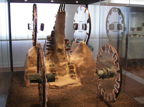 chariots in the museum