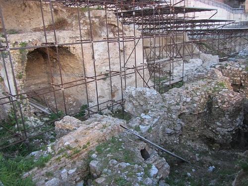 resti del porto romano di Ancona